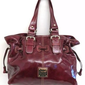 Dooney & Bourke Patent Leather Chiara Handbag